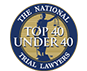 Alexander Named top 40 under 40 by the National Trial Lawyers Association